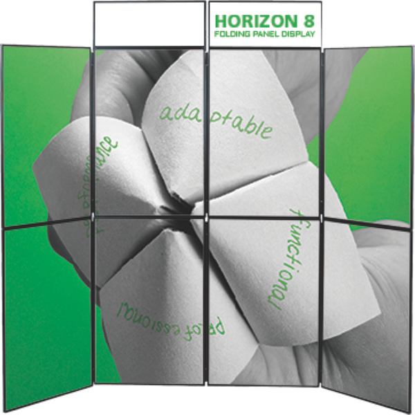 Horizon 8 Folding Panel Display