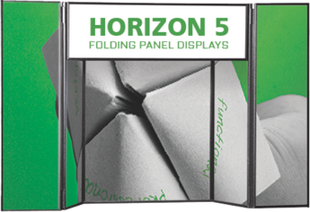 Horizon 5 Folding Panel Display Graphics Only