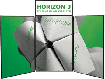 Horizon 3, 6  & 8 Folding Panel Display Graphics Only