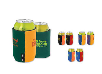Two Toned Koozie Can Kooler