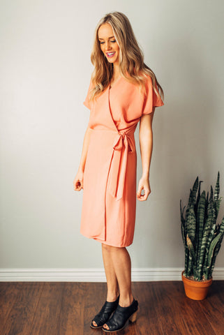 Gloria Wrap Dress