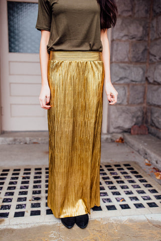Holley Metallic Skirt