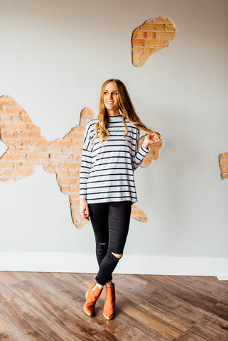 Catalina Striped Long Sleeve