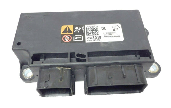 2017 GMC Yukon Airbag SRS Sending & Diagnostic Module / SMD Block Box 13518019