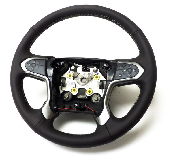 23278607 Steering Wheel Cocoa without Crash Alert Chevrolet Silverado GMC Sierra