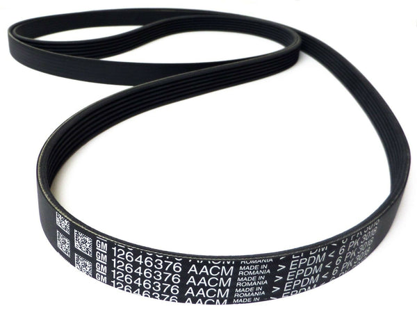 GM Serpentine Belt 12646376 2015-16 Silverado 2500/3500 Sierra 2500/3500 V8 6.6L