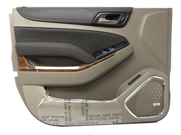 84192445 Front Left Driver Side Door Panel Dune 2015-19 Chevrolet Suburban Tahoe