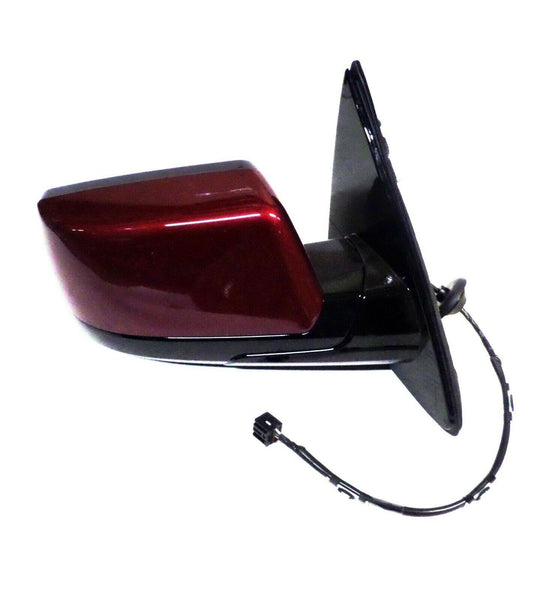 Passenger Side Mirror Siren Red Metallic 2015 to 2018 Suburban Tahoe Yukon