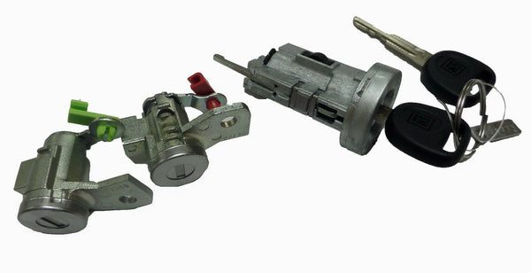 Genuine GM Ignition Cylinder Lock Kit with Set Keys and Door Locks Cylinders