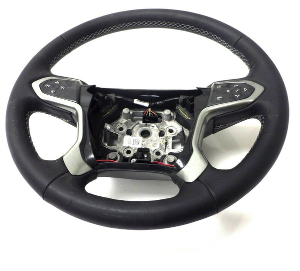 23134274 Steering Wheel Leather Black Chevrolet Silverado GMC Sierra
