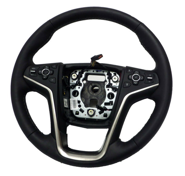 23148958 OEM Steering Wheel Jet Black Pre-Crash 2015-2016 Buick Allure LaCrosse