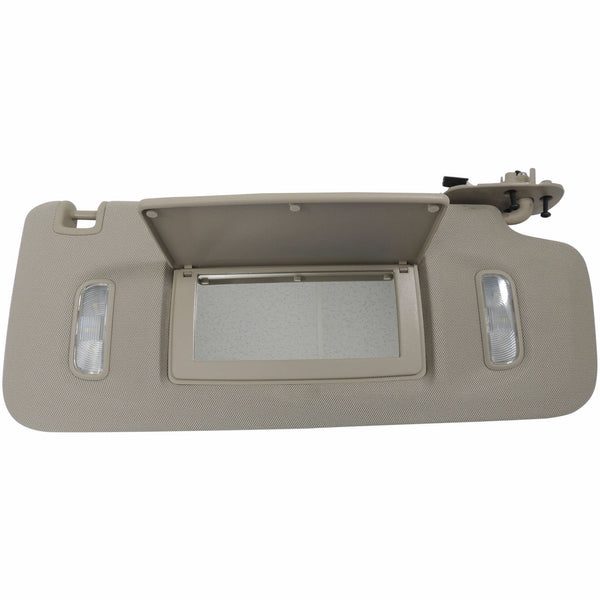 2007-2018 Escalade Suburban Tahoe Yukon Interior Sun Visor Brown Lighted Mirror