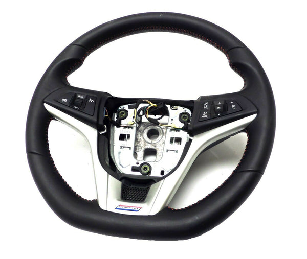 23217514 OEM Steering Wheel Black with Red Stiches 2015 Chevrolet Camaro