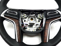 84366369 Steering Wheel Cocoa Brown Heated none Precrash 2018-2019 Cadilla XTS