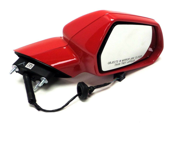 84561736 Passenger Side Mirror Red Metallic 2019 2020 Chevrolet Camaro