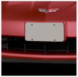 License Plate Holder - Front Color: Victory Red 2005-2007 Chevrolet Corvette