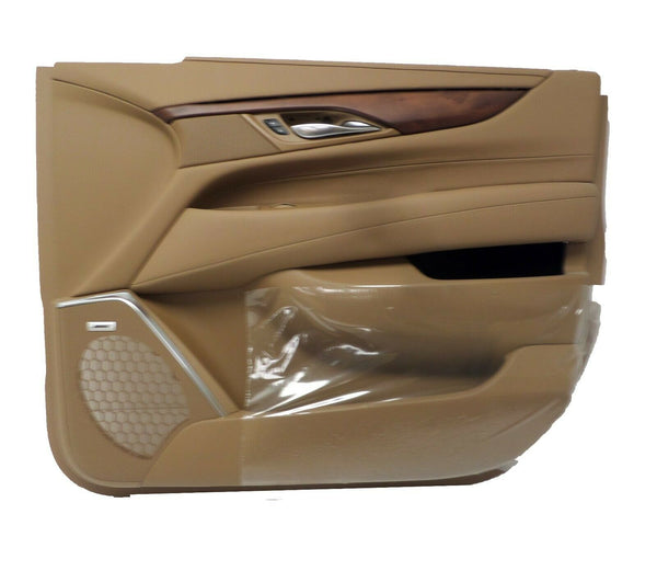 84031308 Front Passenger Side Choccachino Door Panel 2015-2019 Cadillac Escalade