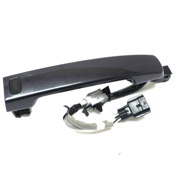Front Exterior Gray Door Handle with Passive Entry Sensor for Nissan Altima