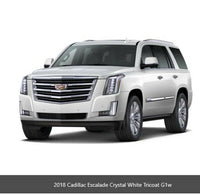 84354162 Cadillac Escalade Mirror Driver Side Crystal White Side Alert Sensor
