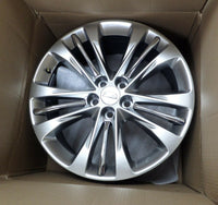 84129744 Aluminum 5 Spoke Wheel Midnight Silver Size 20 2016-2020 Cadillac CT6