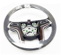 2017 Cadillac Escalade Steering Wheel Black Lather & Stiches  23361003