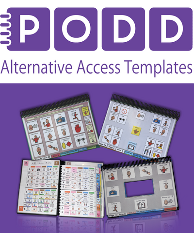 Pragmatic Organisation Dynamic Display (PODD) Communication Book: Alternative Access Templates