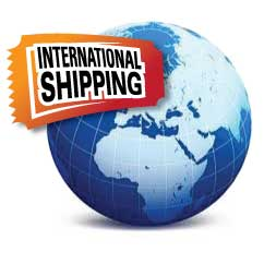 Standard International shipping only - signature required