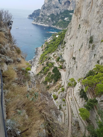 WOW! Looking down from Anacapri