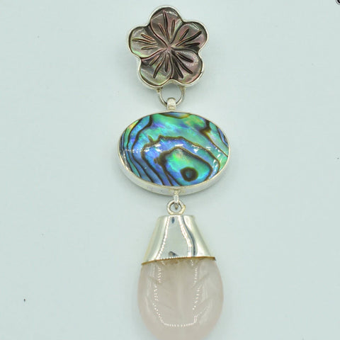 https://designersterlingsilver.com/products/abalone-mother-of-pearl-and-rose-quartz-pendant