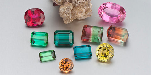 Various Tourmaline Color Stones