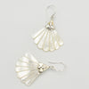 Mother of Pearl Sterling Silver Pierced Earrings