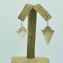 Load image into Gallery viewer, Sterling Silver Mother of Pearl Earrings