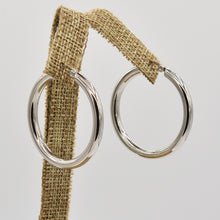 Load image into Gallery viewer, Stainless Steel Hoop Earrings