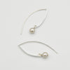 Fresh Water Pearl Sterling Silver Earrings