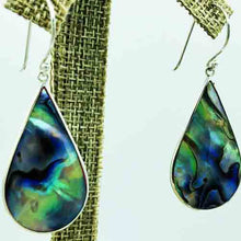 Load image into Gallery viewer, Abalone OR Red Coral Earrings-Double Sided, 2 pair in one