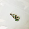 Abalone Sterling Silver Sea Horse