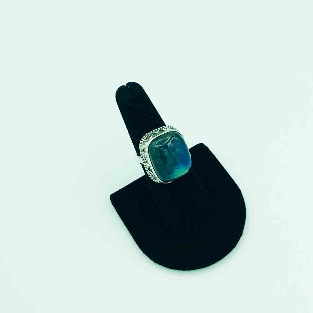 Labradorite Sterling Silver Ring-size 7