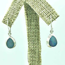 Load image into Gallery viewer, Sterling Silver Opal Earrings