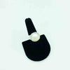 Mabe' Pearl and Sterling Silver Ring