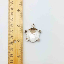 Load image into Gallery viewer, Mother of Pearl Turtle Pendant OR Turtle Pin