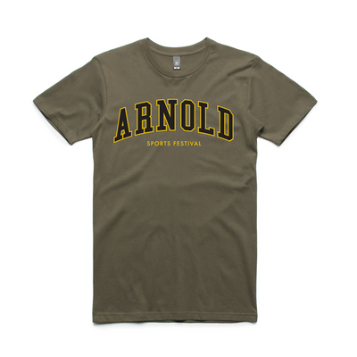 2020 Arnold College Tee - Army