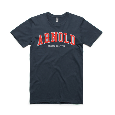 2020 Arnold College Tee - Navy