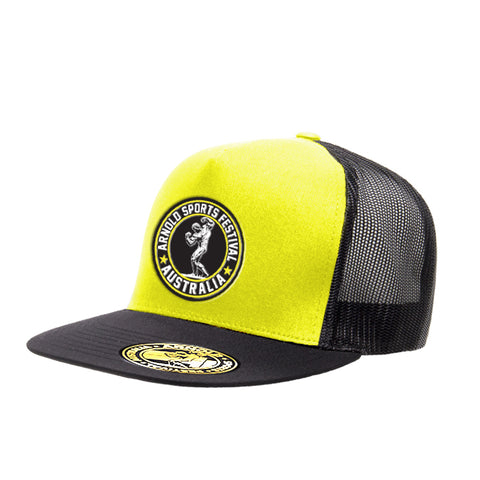 2019 Arnold Neon Yellow Trucker Cap