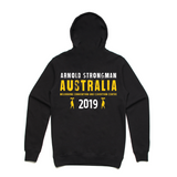 2019 Arnold Strongman Black Event Hood