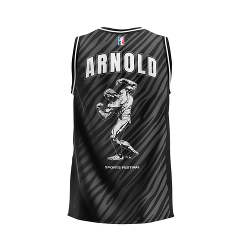 2020 Arnold Sports Black Tiger Basketball Jersey