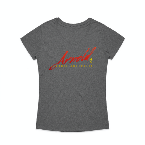 Arnold Signature Tee - Charcoal Marle