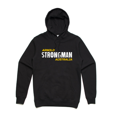 2020 Arnold Strong Hoodie - Black