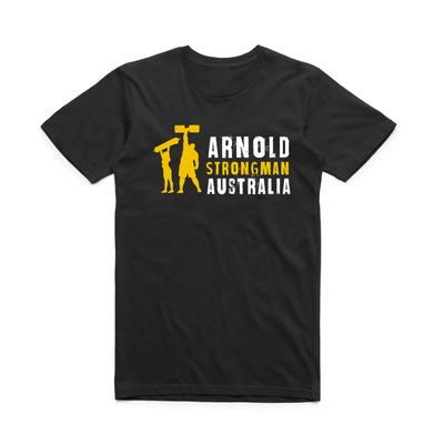 2020 Arnold Strong Tee - Black