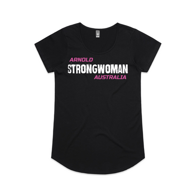2020 Arnold Strong WOMAN Tee - Black