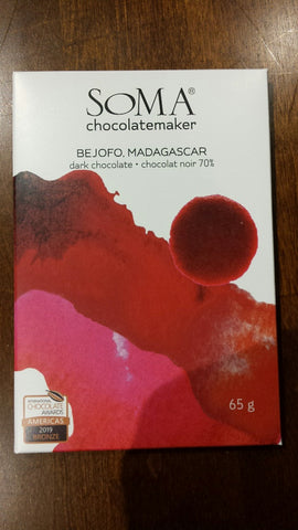 SOMA Chocolatemaker - Bejofo Estate, Madagascar - 70%